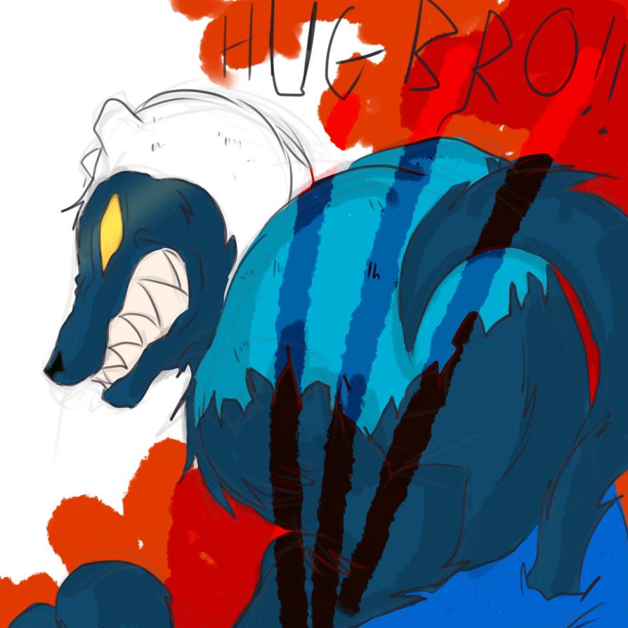 Hug Wolf Finn By Elitheray On Deviantart
