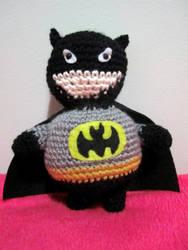 Batman Amigurumi by Chargingrhinos13