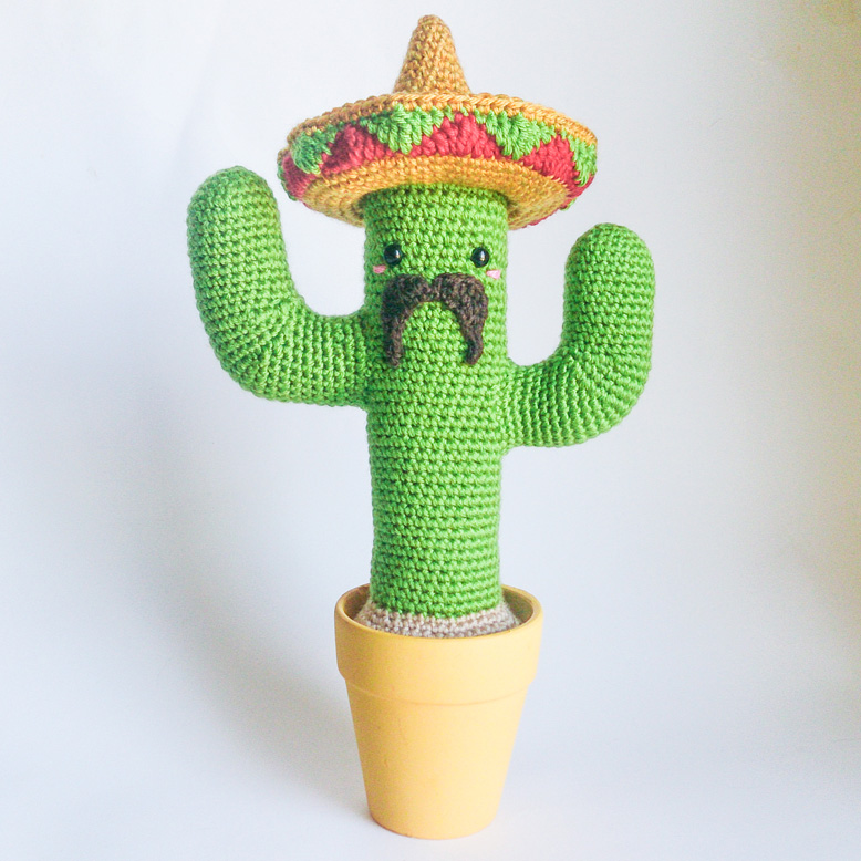 Mexican Cactus Updated \o/ by Armigurumi