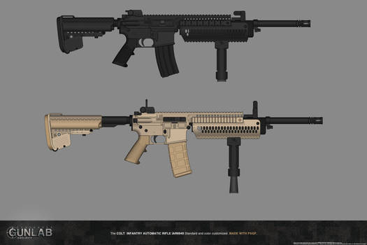 PSGP: Infantry Automatic Rifle