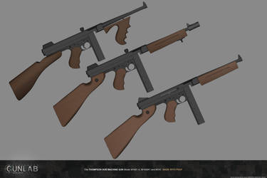 PSGP: Thompson Sub Machine Gun