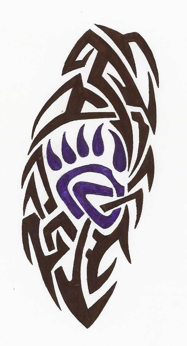 bear claw tribal by pinguin83 on deviantart
