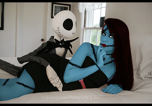 Jack and Sally by BelladonnaBloodCrave