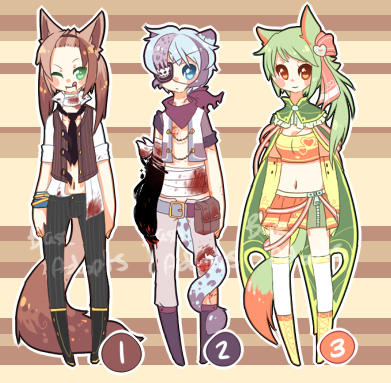 Lino Adopt 1-3 Auction [closed] by BaseAdopts