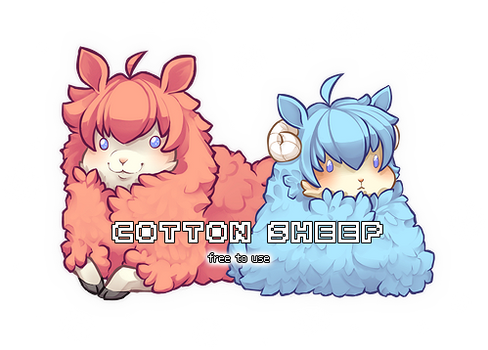 Cotton Sheep 1+2 [Free to Use]