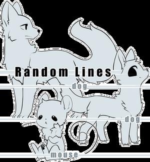 Dog Dog Mouse Line Base Set [P2U]