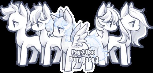 Pony Base 3 [P2U] by BaseAdopts