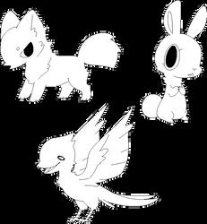 Random Animal Lines (F2U) by BaseAdopts