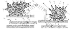 constellation de la balance n/b