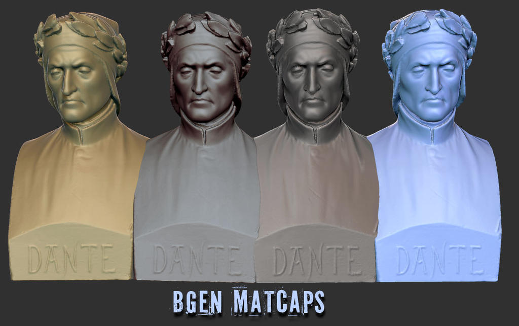 bgen classic matcaps for zbrush free by bgviper on deviantart