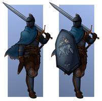 Baron Esther, The Ash Dweller (Dark Souls OC) by loganburns346