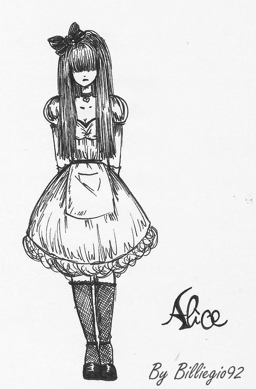 Alice in Wonderland by Billiegio92 on DeviantArt