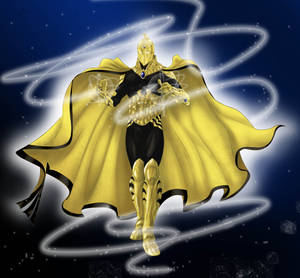 My take of Dcnu Doctor Fate - coloured