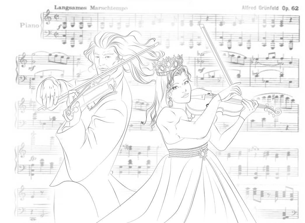 Violin Duetto: Andre Rieu and Cecilia