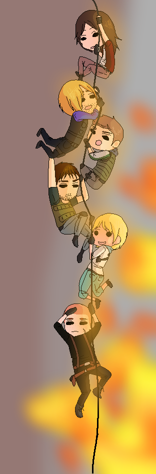 Holding on for dear life by aura102