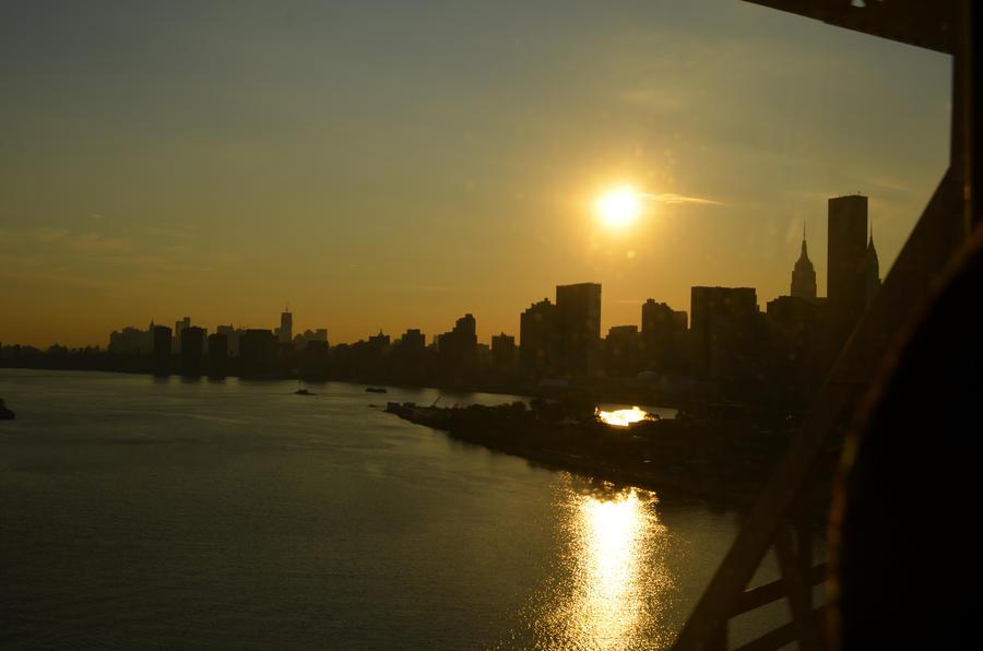 Manhattan at Sunset by nix1210