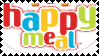 Happy Meal Stamp by Llama-lady