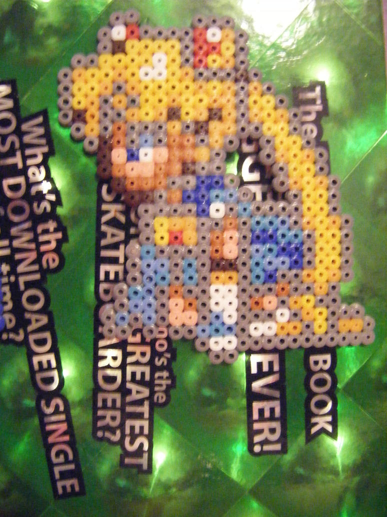 Sailor Moon perler by Llama-lady