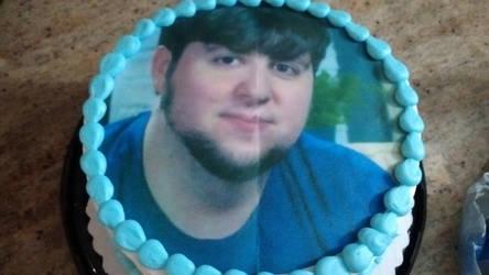 My 24th birthday cake