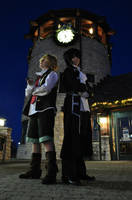 Pandora Hearts: Clock Tower by PockyTheif