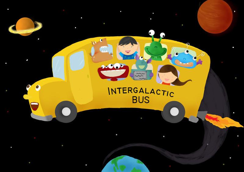 Intergalactic Bus by latebraking