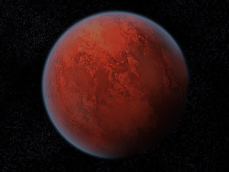 Red Planet by latebraking