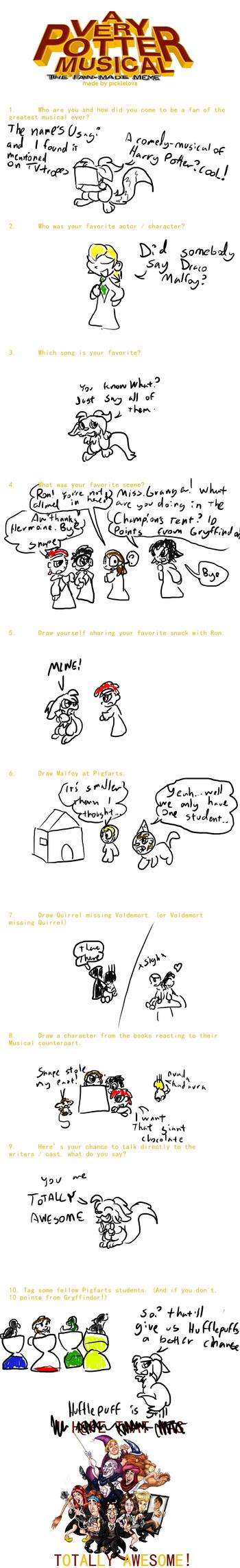 A Very Potter Meme by Usagi-Zakura