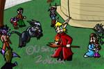 WoW- Mage VS Druid