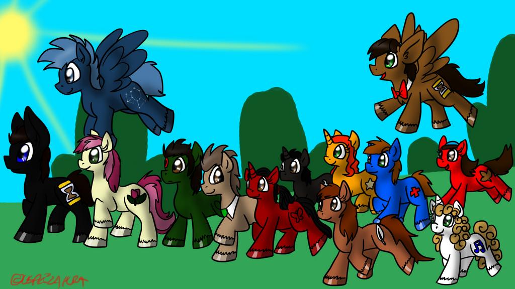 Pony Companions by Usagi-Zakura