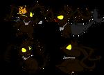 Shadow-Sora's variuos forms