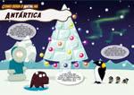 Como seria o Natal - Antartica