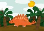 Cuttie animals - Stegosaurus
