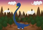 Cuttie animals - Brachiosaurus