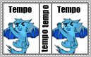 Tempo Stamp by DragonclawAwesome