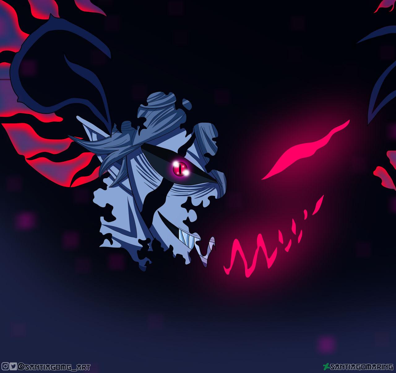 Black Clover 266 Asta Demon Form By Santiagomaring On Deviantart