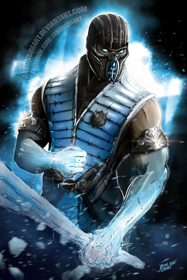Mortal Kombat X Sub Zero Deviantart Sub-Zero by JasonsimAr...