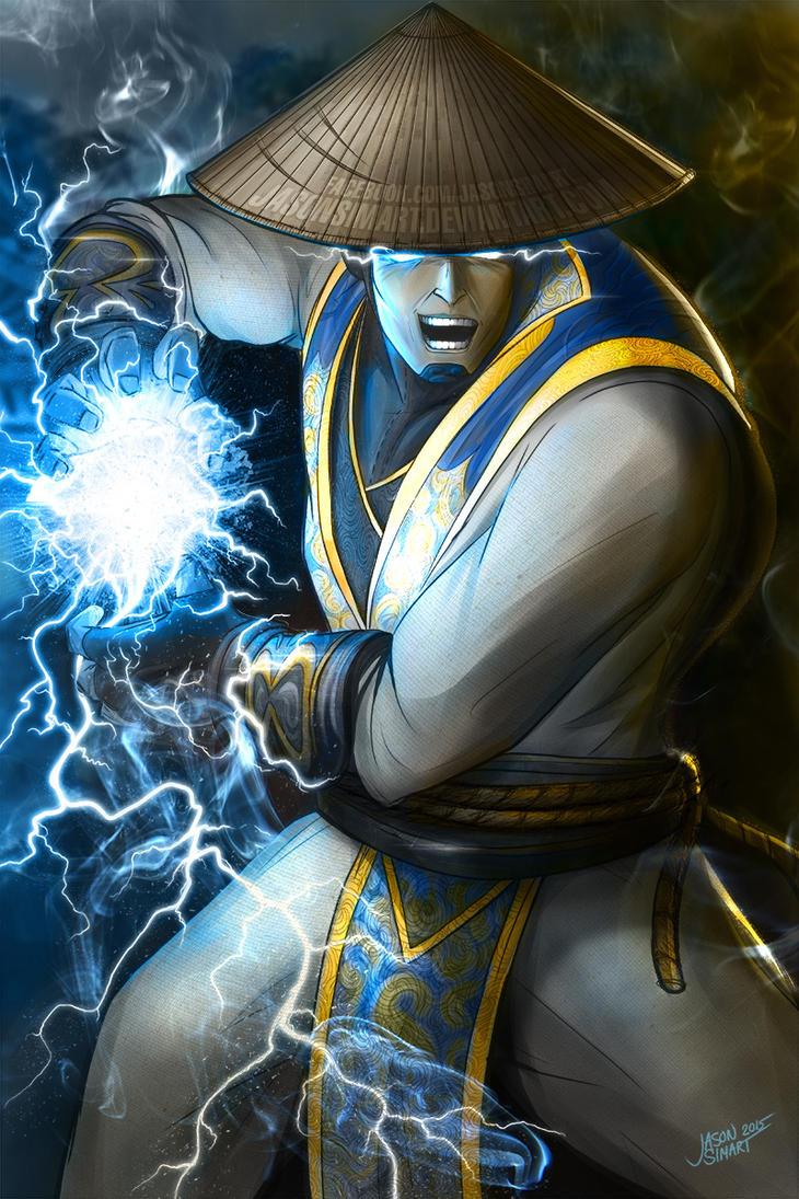 Mortal Kombat Raiden Drawings Raiden - God of thunde...
