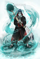 Kisame - the tailless tailed beast by SimArtWorks