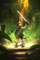That epic moment when you grab the master sword by SimArtWorks