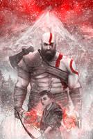 Kratos and Atreus by SimArtWorks