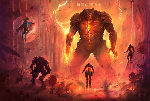 Anthem Titan Encounter