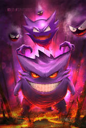 Mean Gengar and his buddies