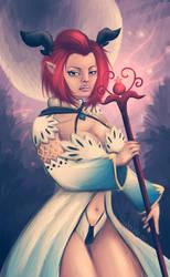 Castanic Healer by Sabusha-Sabs