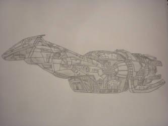 serenity ship by nastyd13