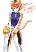 Happy Birthday Rin! by paxiti