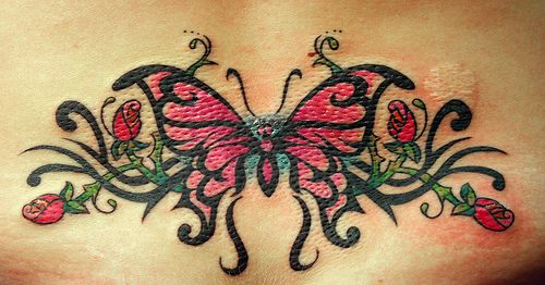 picture of butterfly tattoo. utterfly tattoo