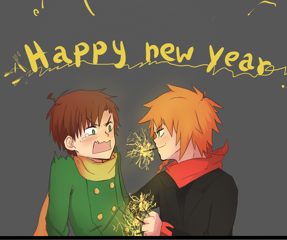 Happy New Year by Misaka-Chan