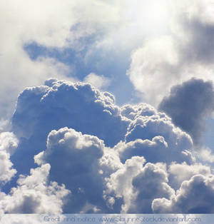 Heavenly Clouds Stock