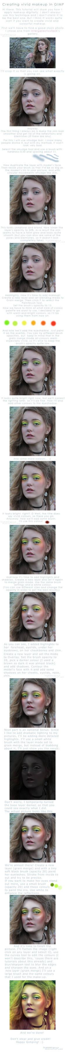 Creating Vivid Makeup:Tutorial