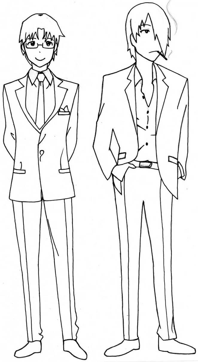 Working: Takanashi and Satou